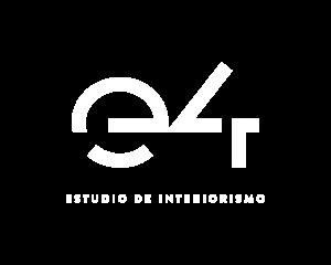 E4 logo blanco